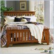 ADD TO YOUR SET: Standard City Park Series Slat Bed in Cherry Finish