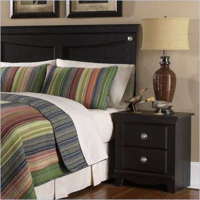 Standard Carlsbad Full / Queen Size Panel Headboard 2 Piece Bedroom Set