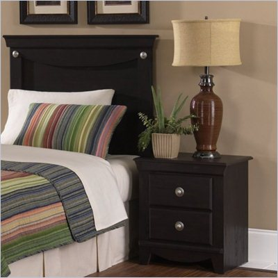 Standard Carlsbad Youth Panel Headboard 2 Piece Bedroom Set