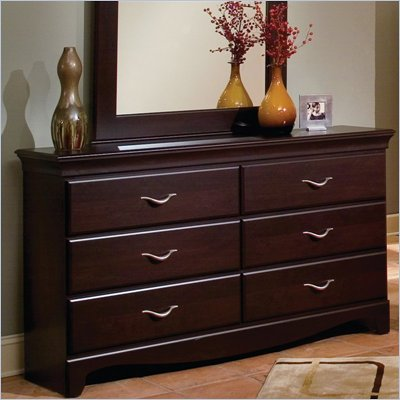 Standard City Crossing Cherry Double Dresser