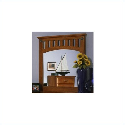 Standard City Park Light Cherry Panel Mirror