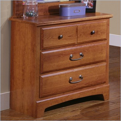 Standard City Park Kids 3 Drawer Chest in Cherry Finish