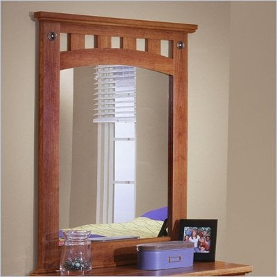 Standard City Park Kids Panel Mirror in Cherry Finish