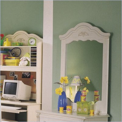Standard Diana  White Wash Panel Mirror