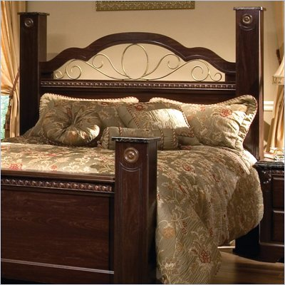 Standard Sorrento Poster Headboard in Olympus Brown Finish
