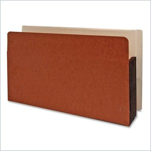 Kleer-Fax Side/End Tab Shelf File Pocket