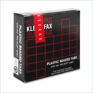 Kleer-Fax 1/5 Cut Hanging Folder Tab