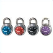 Master Lock Colored Dial Combination Padlock