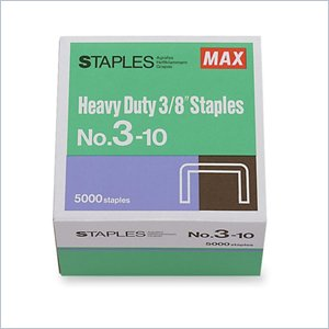 MAX Heavy-Duty Staples
