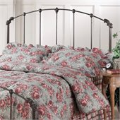 Hillsdale Bonita Metal Headboard in Copper Mist
