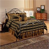 Hillsdale Kendall Metal Poster Bed in Bronze Finish