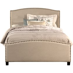 Hillsdale Kerstein Upholstered Full Panel Bed in Light Taupe