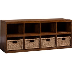 Hillsdale Tuscan Retreat 8 Cubby Shoe Rack in Oxford
