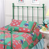Hillsdale Molly Twin Metal Headboard in Green