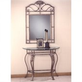 Hillsdale Bordeaux Console Table in Bronze Pewter