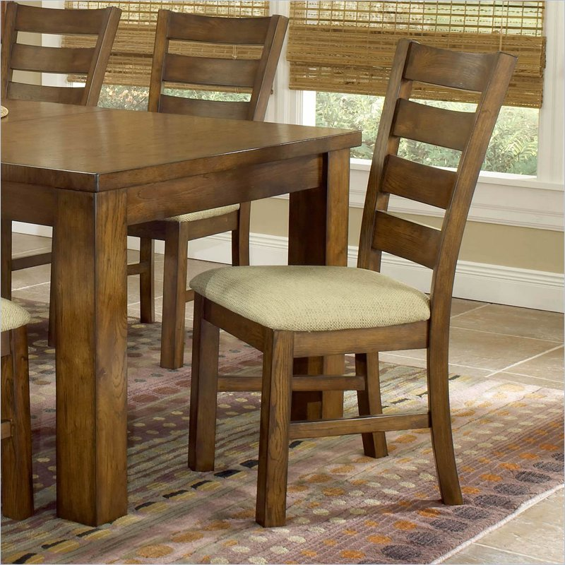 wood dining chairs (set of 2) 4941-802. the hemstead wood dining