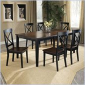 Hillsdale Englewood 5 Piece Rectangular Dining Table Set