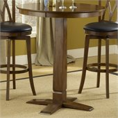 Hillsdale Dynamic Designs Pub Table in Brown Cherry