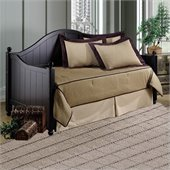 Hillsdale Augusta Wood Daybed in Black Finish