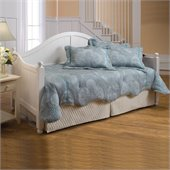 Hillsdale Augusta Wood Daybed in White Finish