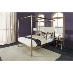 Hillsdale Avalon Upholstered Queen Bed in Oyster