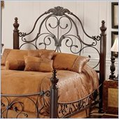 Hillsdale Bonaire Metal Headboard in Brushed Bronze