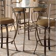 ADD TO YOUR SET: Hillsdale Brookside Bar Height Bistro Table