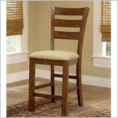 Hillsdale Hemstead 24 Inch Non Swivel Counter Stool (Set of 2)