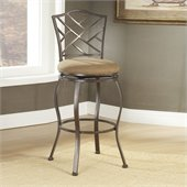 Hillsdale Hanover 30 Inch Swivel Bar Stool