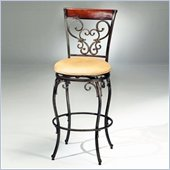 Hillsdale Knightsbridge 26 Inch Counter Height Swivel Bar Stool