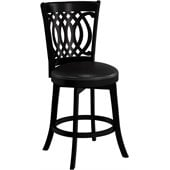 Hillsdale Van Draus 24 Inch Counter Height Swivel Bar Stool