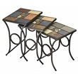 ADD TO YOUR SET: Hillsdale Pompei Slate Top Nesting Tables
