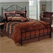 Hillsdale Harrison Metal Bed in Textured Black Finish