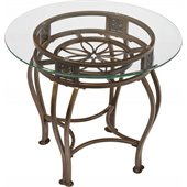 Hillsdale Scottsdale Round End Table