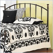 Hillsdale Bel Air Metal Headboard in Black Gold