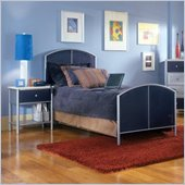 Hillsdale Universal Youth Navy Metal Bed 5 Piece Bedroom Set