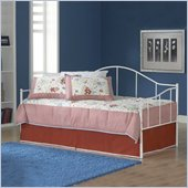 Hillsdale Jaylynn Metal Daybed in White Finish