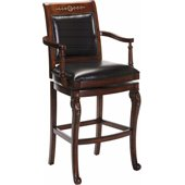 Hillsdale Douglas 30'' Wood Bar stool