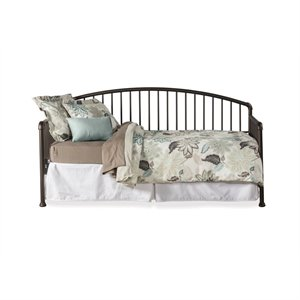 Hillsdale Brandi Daybed Oiled Bronze - Metal Suspension Deck Included
