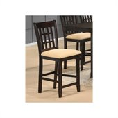 Hillsdale Tabacon Non-Swivel Cappuccino Counter Stool - Set of 2