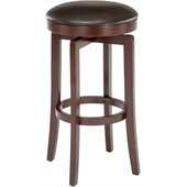 Hillsdale Malone 25 Backless Swivel Counter Stool in Cherry