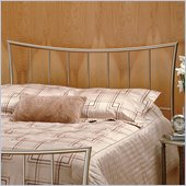 Hillsdale Eva Metal Headboard in Nickel