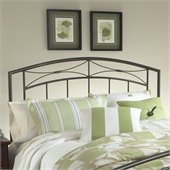 Hillsdale Morris Metal Headboard in Magnesium Pewter Finish
