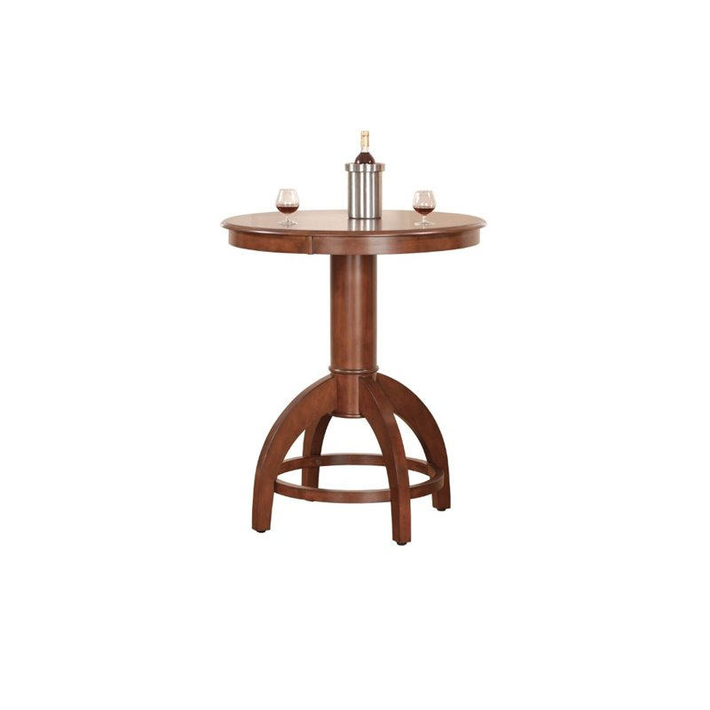 Hillsdale Palm Springs Pub Table in Medium Cherry 222052
