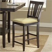 Hillsdale Arcadia Set of 2 Counter Stools in Espresso