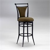 Hillsdale Cierra 26 Inch Swivel Counter Height Bar Stool