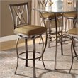 ADD TO YOUR SET: Hillsdale Brookside 30 Inch Diamond Back Swivel Bar Stool
