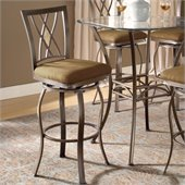 Hillsdale Brookside 30 Inch Diamond Back Swivel Bar Stool