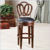 Hillsdale Dover 24 Inch Counter Height Swivel Bar Stool