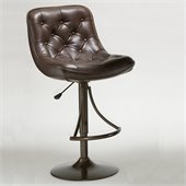 Hillsdale Aspen Adjustable Bar Stool in Copper